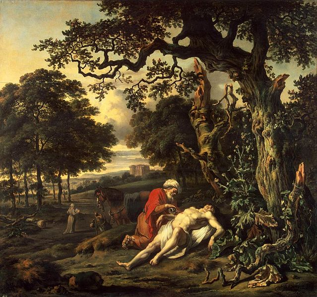Jan Wynants -Parable of the Good Samaritan
