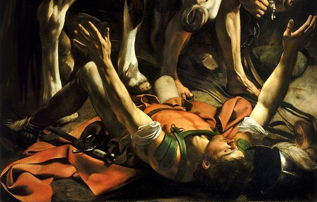 640px-Conversion_on_the_Way_to_Damascus-Caravaggio_(c.1600-1)