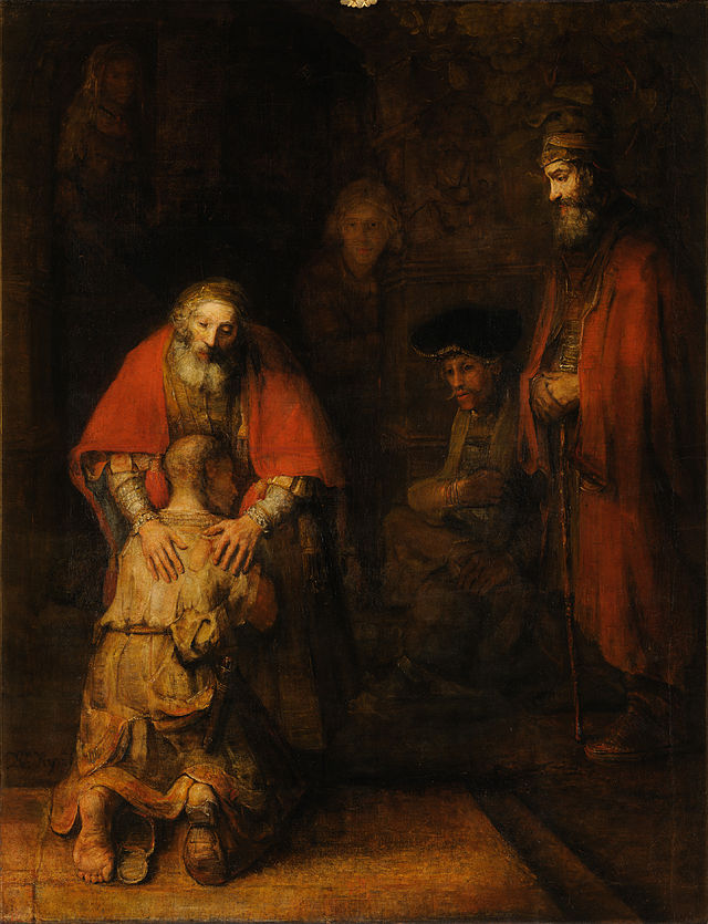Rembrandt's Return of the Prodigal Son